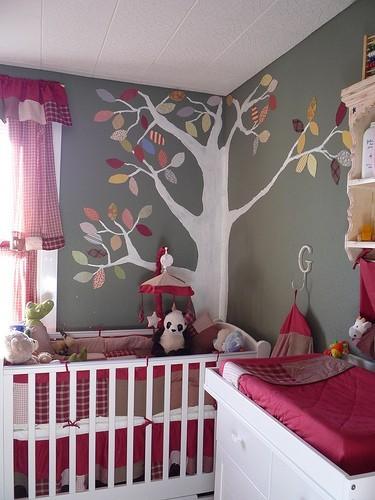 Идея для дизайна детской