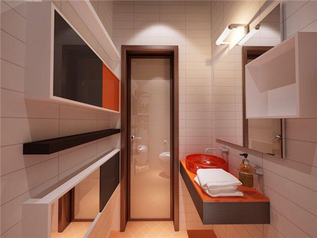 Дизайн ванной комнаты 55 кв метров
