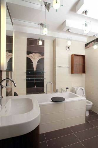 эконом дизайн ванной - Мебель ванной