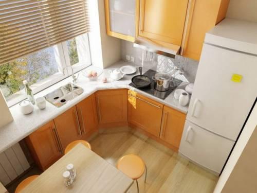 Дизайн кухни 5 3 м