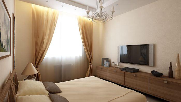 Дизайн спальни с балконом 12 кв метров в хрущевке