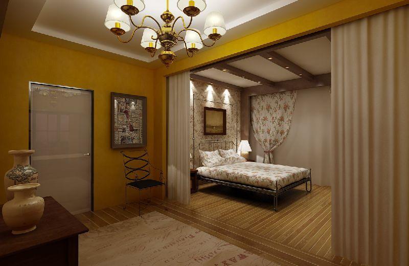 Дизайн спальни с гардеробной.