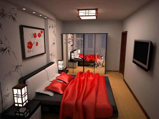 Интерьер спальни 10 кв.м фото в квартире